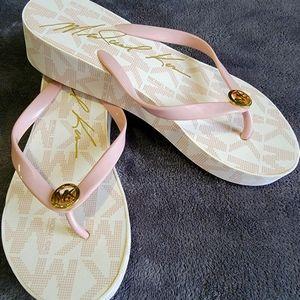 NWOT Michael Kors wedge slipper